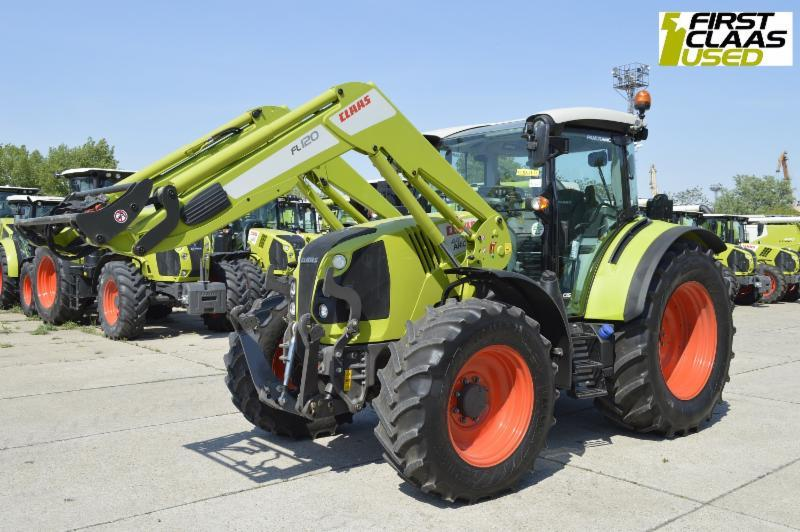 Claas ARION 440 + FL120