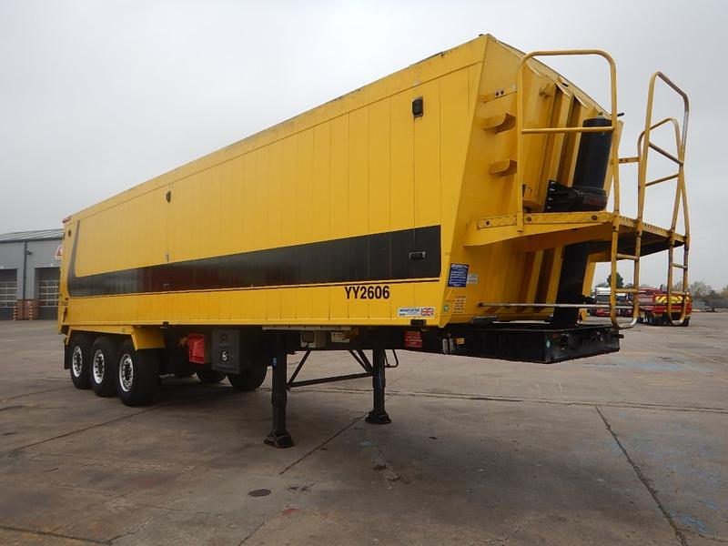 WEIGHTLIFTER 67 CU-YD PLANK SIDED BULK TIPPING TRAILER - 2011 - C318896