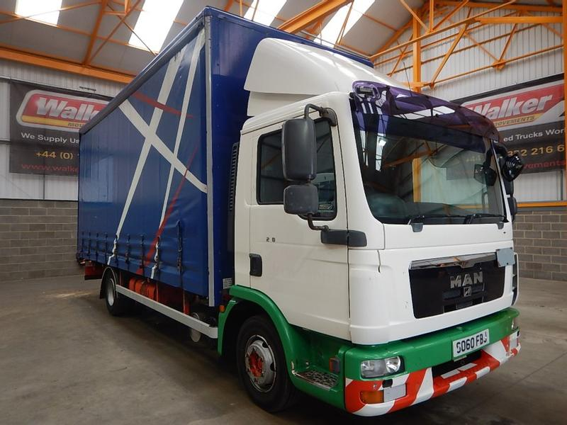 MAN TGL 10.220 10 TONNE CURTAINSIDER - 2010 - SO60 FBJ