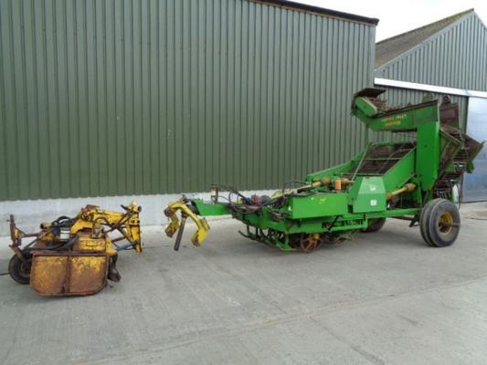 Used Standen Turbobeet Mk2 3 Row Beet Harvester