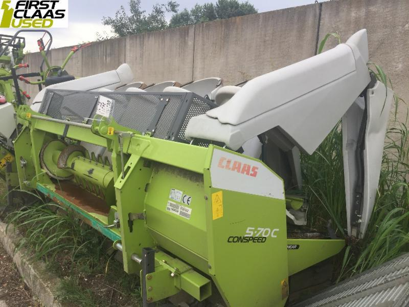 Claas CONSPEED 5-70 C LINEAR