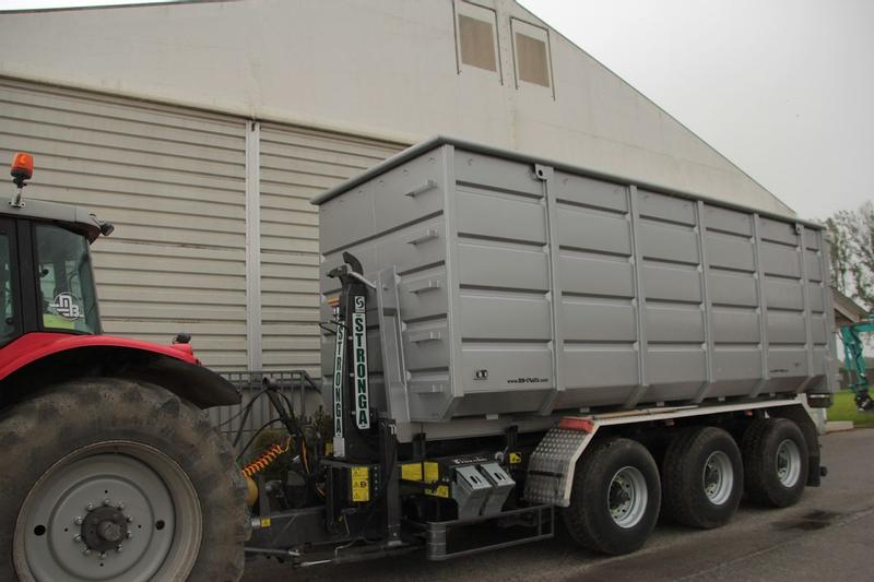 Abrollmulde/Hakenliftcontainer 38,5 m³