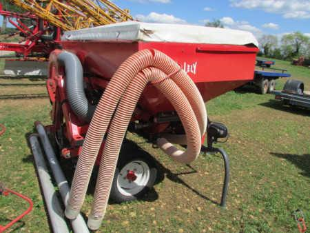 Lely Polymat 6 metre Airseeder for folding power harrow, with front F2 Hopper
