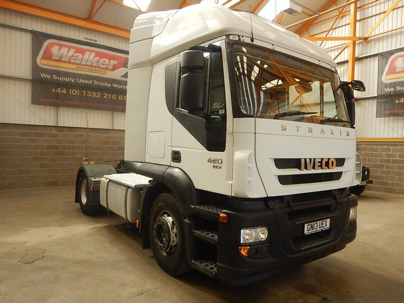 Iveco STRALIS ACTIVE TIME 420 EURO 5, 4 X 2 TRACTOR UNIT - 2013 - GN13 UEX
