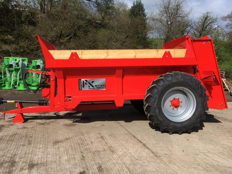 NEW PK Sales VB6 Muck Spreader PK VB 6