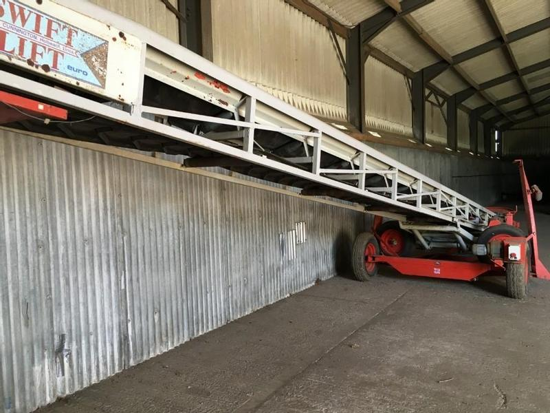 SWIFTLIFT EURO 11M RUBBER BELTED CONVEYOR