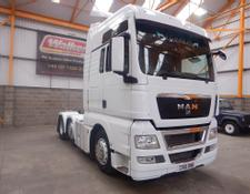 MAN TGX 26.440 XXL 6 X 2 TRACTOR UNIT - 2010 - CX10 OMB